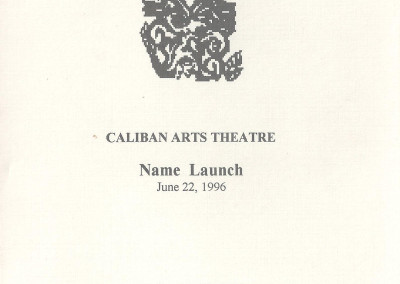 programme guide -launch 1996