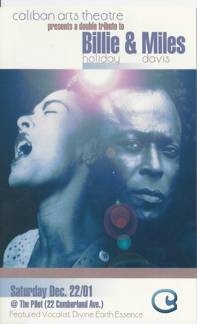 A double tribute to Billie Holiday and Miles Davis