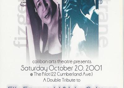 A double tribute to Ella Fitzgerald and John Coltrane