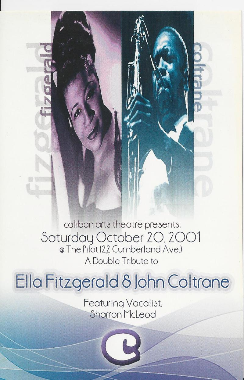 A double tribute to Ella Fitzgerald and John Coltrane