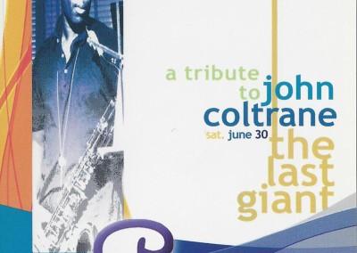 A tribute to John Coltrane