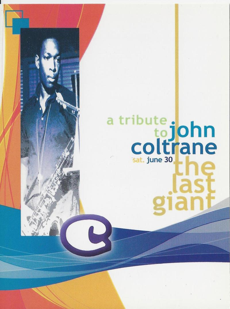 A tribute to John Coltrane