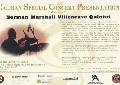 Caliban Special Concert Presentation back