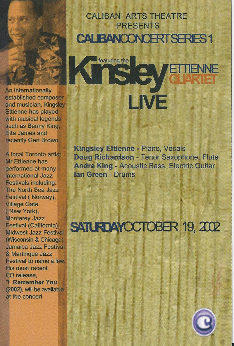Caliban presents Kinsley