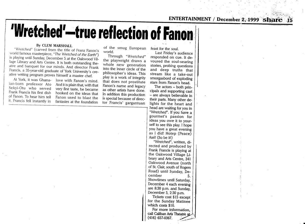 The Wretched Review 1999
