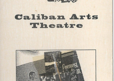 caliban arts theatre card 2 front