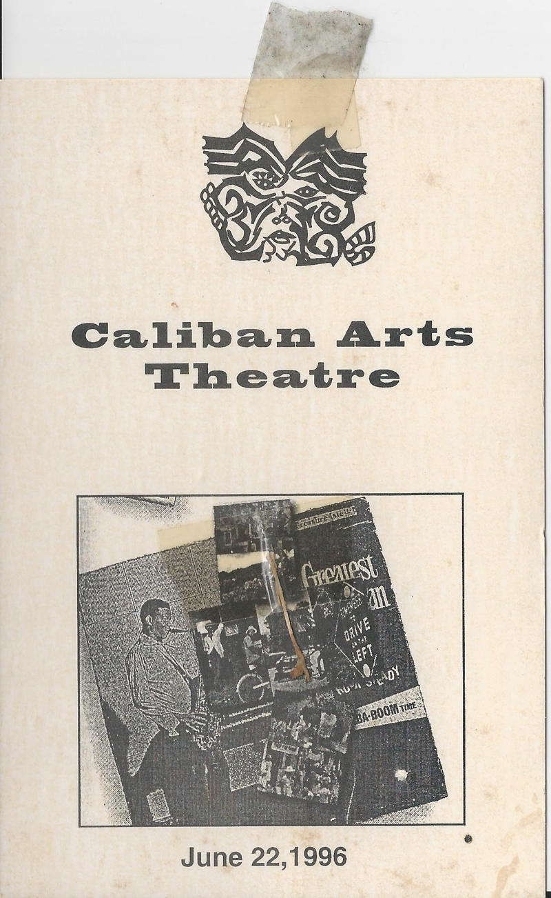 caliban arts theatre card 2 front