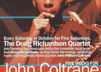 five weeks for john coltrane front